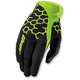Black/Flo Green Draft Comp Gloves
