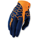 Navy/Orange Draft Comp Gloves