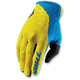 Yellow/Blue Draft Indi Gloves