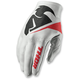 White Invert Flection Gloves
