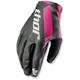 Womens Black/Pink Void Gloves