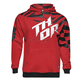 Youth Red/Black Dazz Pullover Hoody