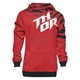 Red/Black Dazz Pullover Hoody