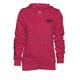Women's Pink Fin Zip Hoody