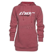 Women's Heather Pink Pinin Pullover Hoody