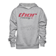 Girls Heather Gray Pinin Pullover Hoody