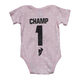 Pink/White Infant Champ SuperMini T-Shirt