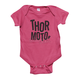 Hot Pink/Black Infant Crush SuperMini T-Shirt