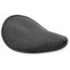 Black Small Low Profile Spring Solo Seat - 0806-0095