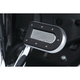 Chrome/Black Heavy Industry Brake Pedal Pad - 7039