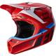 Red V3 Seca Helmet