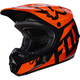 Youth Orange V1 Race Helmet