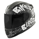 Matte Black/White/Charcoal SS1310 Bikes Are In My Blood Helmet