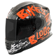 Black/White/Orange SS1310 Bikes Are In My Blood Helmet