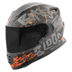 Matte Black/Gray/Rust SS1310 Bikes Are In My Blood Helmet