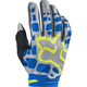 Women's Gray/Blue Dirtpaw Gloves
