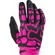 Youth Girls Black/Pink Dirtpaw Gloves