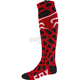 Red Grav Coolmax Thin Socks