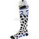 White Grav Coolmax Thin Socks