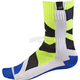 Youth White/Yellow MX Creo Socks
