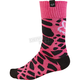 Youth Girl's Black/Pink MX Socks