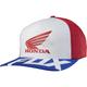 Red/White Honda Basic FlexFit Hat