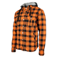 Orange Standard Supply Moto Shirt