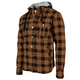 Brown Standard Supply Moto Shirt