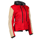 Women's Red/Cream Double Take Jacket