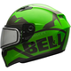Matte Green/Titanium Qualifier Momentum Snow Helmet w/Dual Lens Shield