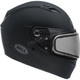 Matte Black Qualifier Snow Helmet w/Dual Lens Shield