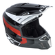 Black/Gray Red Lightning F3 Helmet
