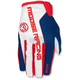 Red/White/Blue MX2 Gloves