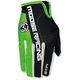 Green/Black MX2 Gloves