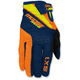 Youth Orange/Navy/Hi-Viz SX1 Gloves