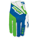 Youth Green/Blue SX1 Gloves