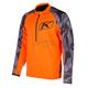 Orange/Gray Revolt Pullover Jacket