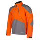 Orange/Gray PowerXross Pullover Jacket