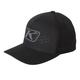 Black Icon Snapback Hat - 3723-000-000-000