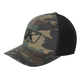 Green/Brown Camo Icon Snapback Hat - 3723-000-000-300