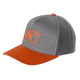Gray/Orange Icon Snapback Hat - 3723-000-000-600