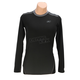 Women's Black Solstice 1.0 Base Layer Shirt