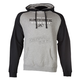 Gray/Black Heritage Pullover Hoody