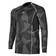 Gray Camo Aggressor Cool -1.0 Long Sleeve Base Layer Shirt
