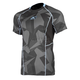 Gray Camo Aggressor Cool -1.0 Short Sleeve Base Layer Shirt