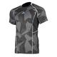 Gray Camo Aggressor Cool -1.0 Short Sleeve Base Layer Shirt