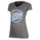 Women's Gray Script T-Shirt