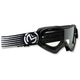 Black/White Qualifier Slash Goggles - 2601-2118