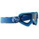Blue/White Qualifier Slash Goggles - 2601-2119