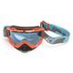 Orange/Black Radius Rattler Goggles w/Blue Tint Lens - 7001-002-000-005